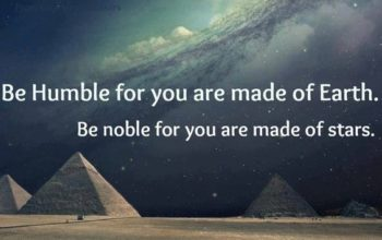 Let Go and Be the Nobler Sort
