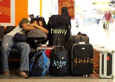 A lot of baggage