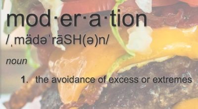 The Moderation Burger – When Moderation Becomes Distraction